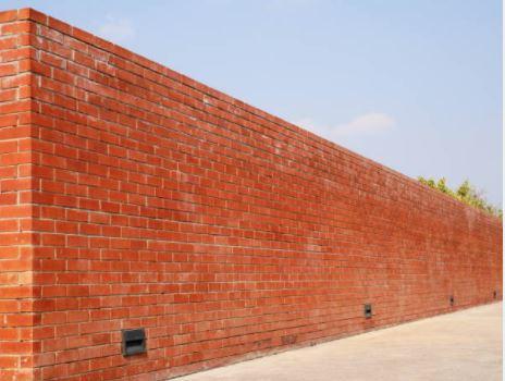 reb brick boundary wall
