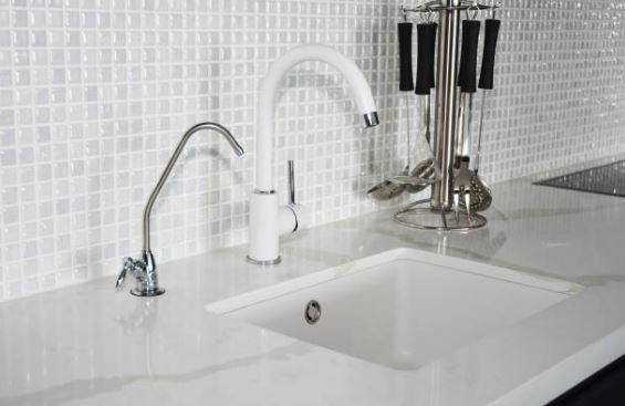 scrub paint kitchen sink
