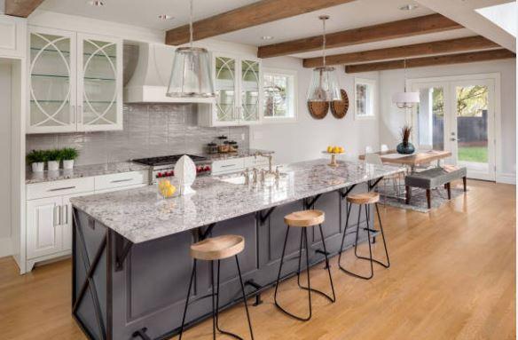 wooden kitchen flooring